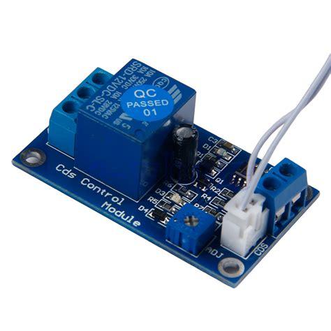 photoresistor relay 12v light switch photoresistor relay module detection sensor xh m131 hm