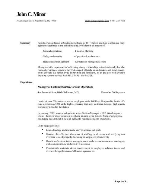 minor resume 2016 ms word 2