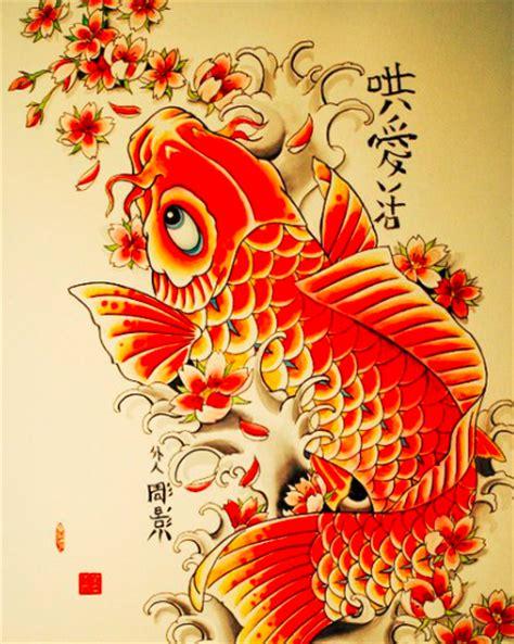 tatuaggi carpa con fiori di loto tatuaggio carpa koi significato ed immagini passionetattoo