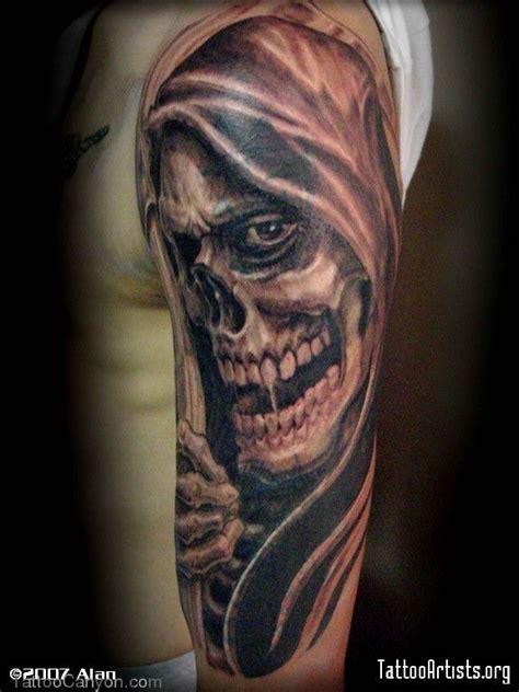 grim reaper tattoo designs free realistic grim reaper sleeves free grim