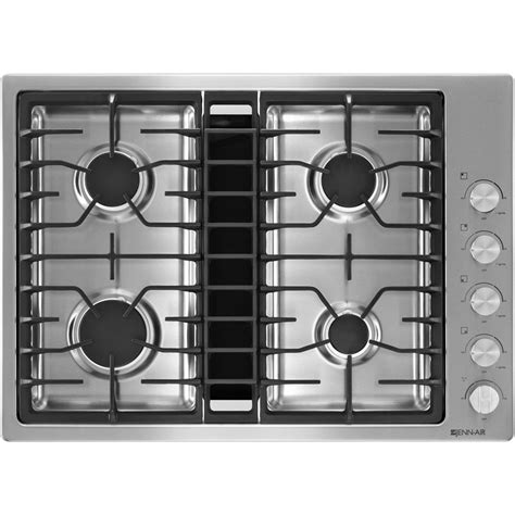 Gas Downdraft Cooktops 30 quot jx3 gas downdraft cooktop jenn air