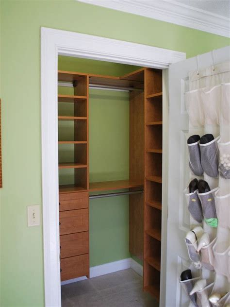 How To Make Room In A Small Closet by Best 25 Small Closet Storage Ideas On Organizing Small Closets Small Closet Design