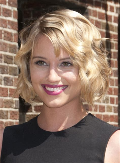 short bob haircut with wavy perm loose wave bob long hairstyles