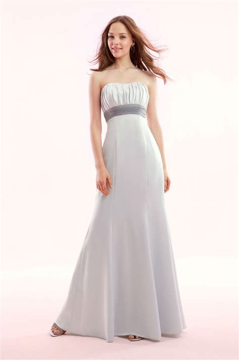 White Bridesmaid Dress white strapless bridesmaid dresswedwebtalks wedwebtalks