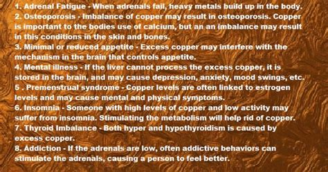 Gittleman Copper Detox by Copper Toxicity Are You Suffering From It Fatigued Pms