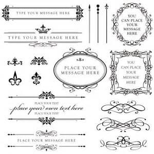 calligraphy clip borders diy wedding by maypldigitalart