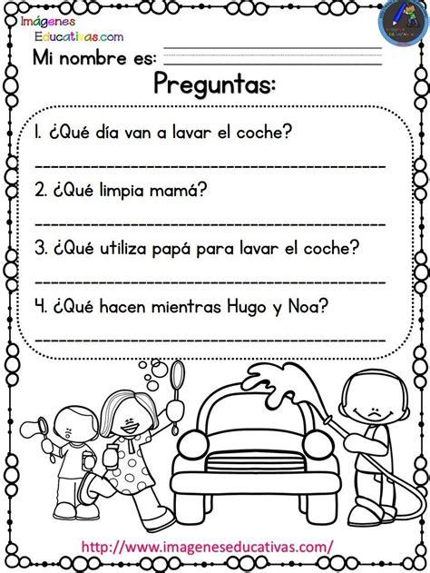 Imagenes Educativas El Desayuno De Hugo | lecturas comprensivas para primaria y primer grado las