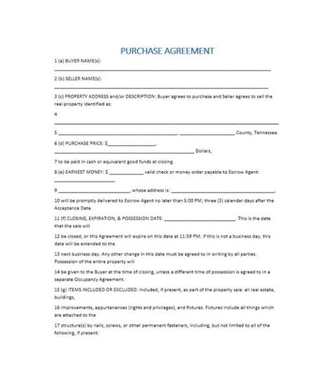 home purchase agreement template simple home purchase agreement beneficialholdings info
