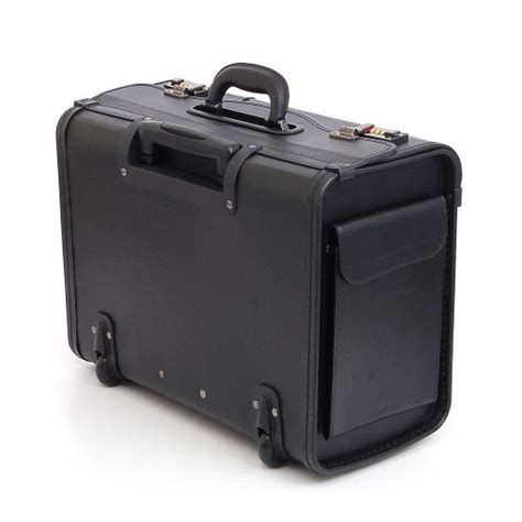 alpine swiss rolling 17 quot laptop briefcase on wheels