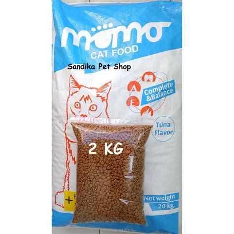Makanan Kucing Bolt 22 Kg Maxi makanan kucing murah momo cat 2 kg tuna shopee indonesia