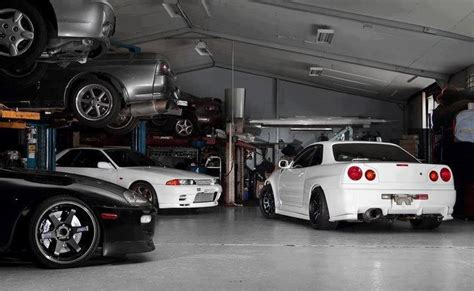 Garage Imports by Jdm Garage Supra Skylines Skyline
