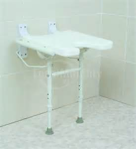 wall mounted shower seat with cutout local mobility