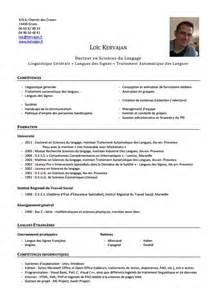 Curriculum Vitae Clinical Psychology by Kervajan
