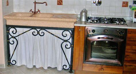 mobile sottolavello cucina mobile sottolavello fai da te in ferro battuto guida