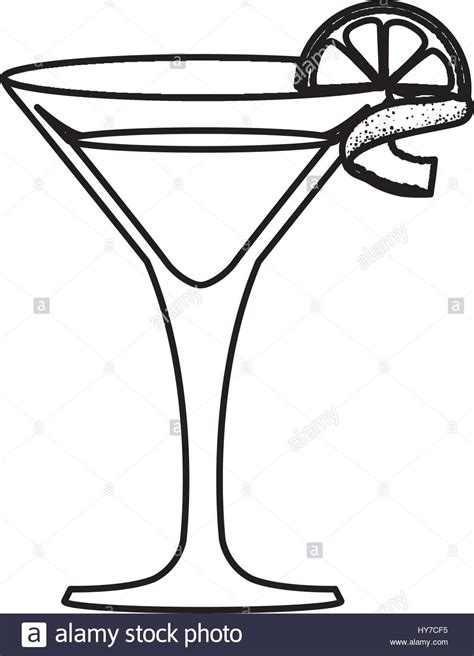 cocktail icon vector glass cocktail margarita vector icon illustration graphic