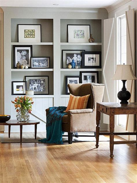 how to decorate bookshelves in living room bhg centsational style
