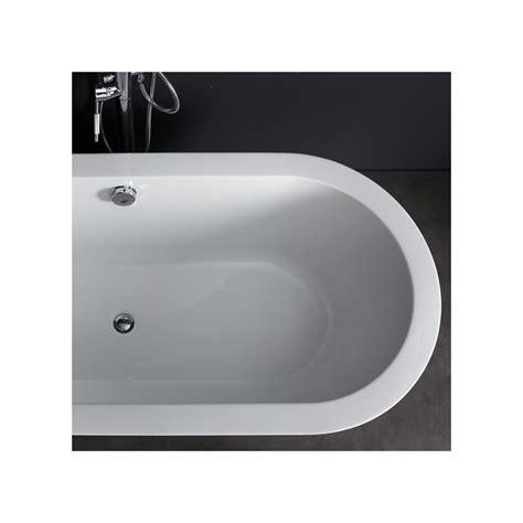 baignoire ovale baignoire ilot ovale acrylique blanche pas cher planetebain