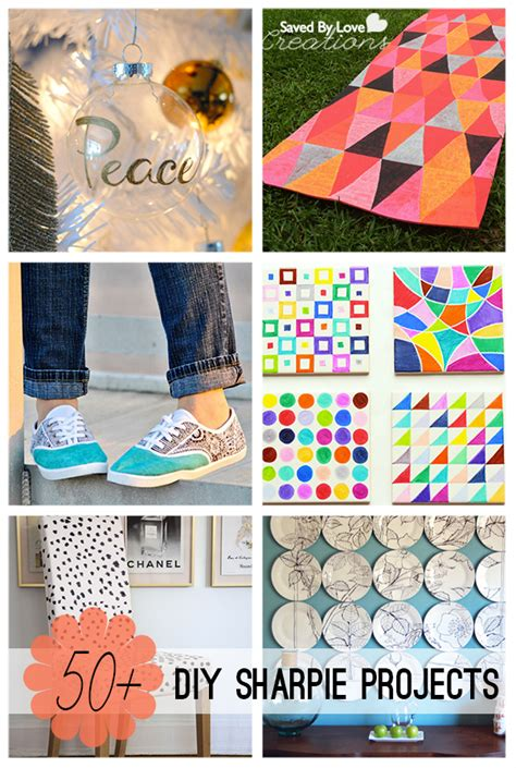 awesome crafts 50 plus awesome sharpie projects to make