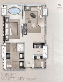 Hotel Room Floor Plan by W Hotel Floor Plans And Photos W Hotel Las Vegas W