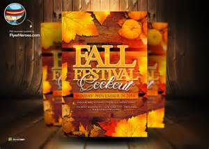 Fall Flyer Template by Fall Festival Psd Flyer Tempate By Flyertemplates On