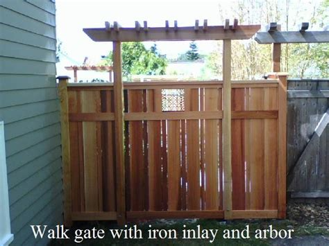 west seattle fence cedar chain link and iron fencing west seattle fence cedar chain link and iron fencing