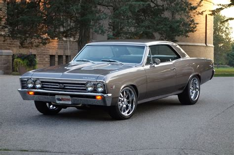 modded muscle cars 1967 chevelle resto mod pro touring perfection
