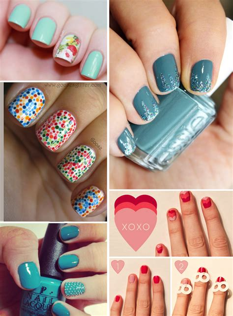 Nail Styles by Wedding Ideas Unique Bridal Nail Styles 4 Onewed