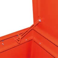 coffre metallique coffre de chantier acier pour du petit mat 233 riel eurosorb