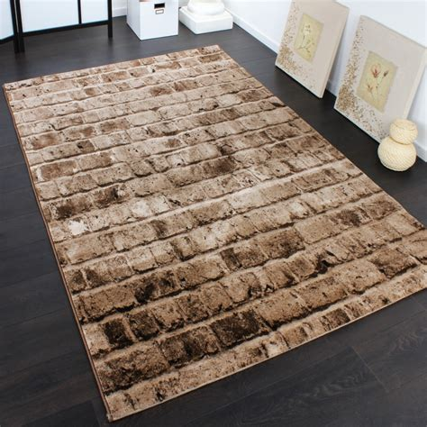 teppiche 80x150 designer carpet with wall pattern in a