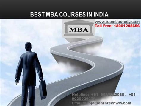 Courses Offered In Mba by Best Mba Courses In India Authorstream