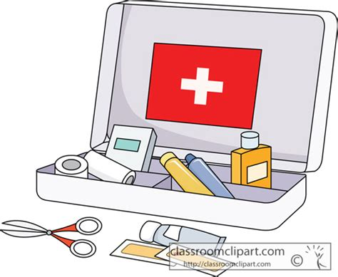 Medicine Cabinet Contents Kit Clipart Clipground