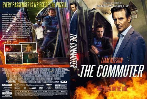 Dvd The Commuter 2018 the commuter dvd covers labels by covercity