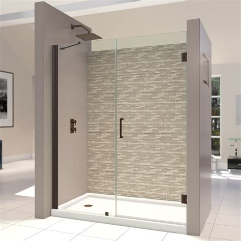 Installing Frameless Shower Door Trackless Shower Door Simplicity In X In Semiframed Sliding With Trackless Shower Door Trendy