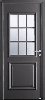 grand vitrage 8 lettres mod 232 le isaac porte d entr 233 e aluminium classique mi vitr 233 e
