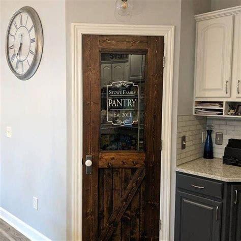 pantry door decal custom pantry door kitchen decal home
