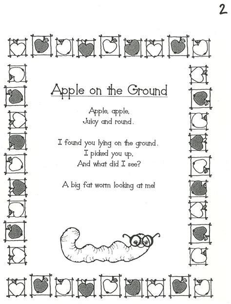 kindergarten poems kindergarten poem homeschool kindergarten