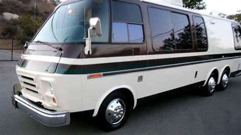 chevy motorhome 1973 gmc motorhome factory chevy rv tvs 4 stripes em 50