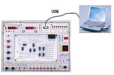 breadboard circuit trainer taiwan general digitized system pc based digital circuit trainer w power supply