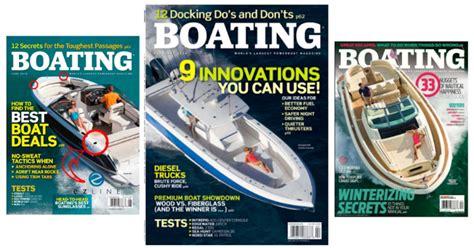 boating magazine free subscription to boating magazine free stuff freebies