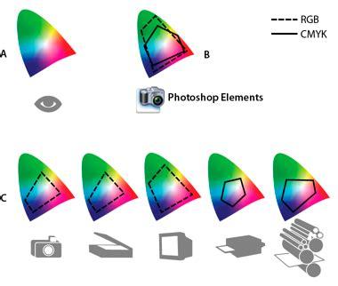 color profile set up color management