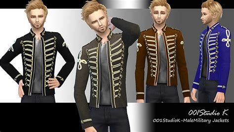 Pirate Themed Bedroom male military jackets at studio k creation 187 sims 4 updates