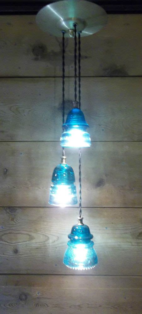 Insulator Light Fixture 17 Best Ideas About Insulator Lights On Pinterest Glass