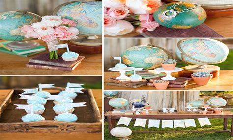 bridal shower travel theme travel decor ideas travel theme bridal shower centerpiece
