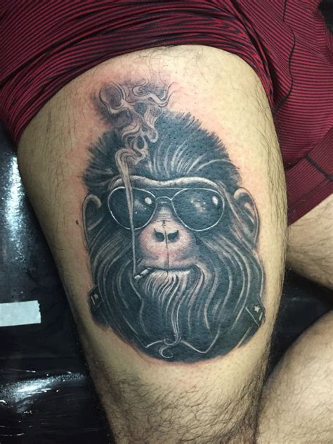 cigar tattoo 17 best gorilla a cigar images on