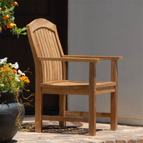 Patio Dining Chairs. Liberty Brown Patio Dining Armchair