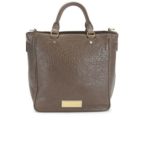 Marc By Marc Washed Utility Satchel by Marc By Marc Washed Up Leather Tote Bag Brown