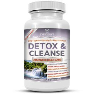 Strongest Detox Cleanse by Evergenics Health And Personal Care