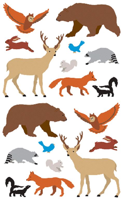 sticker by number calming creatures 12 animal images to sticker with 12 mindful exercises books mrs grossman s stickers woodland animals roll
