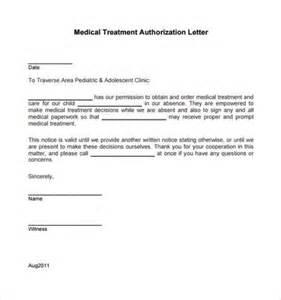 Sample medical treatment authorization letter 9 free examples