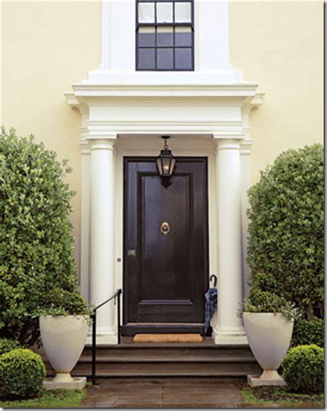Chinoiserie Chic The Chinoiserie Front Door Glossy Black Black Paint For Front Door